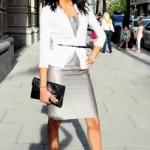 My Style: Silver and Polka Dots in the City